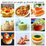 Aperitive cu peşte şi fructe de mare