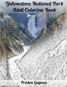 Amazon.com: Yellowstone National Park Adult Coloring Book (9781517744373): Preston Guymon: Books