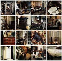 "Ralph Lauren Home Archives, ""St. Germain"" collage"