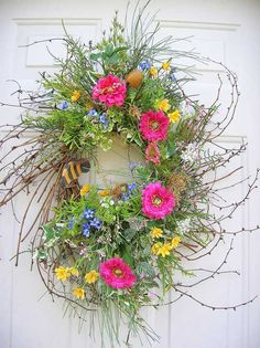 spring/summer wreath!