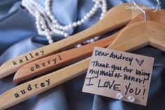 Inexpensive and personalized bridesmaids gifts ideas