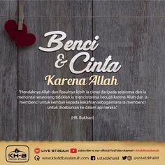 Live Stream, Hadith, Islamic Quotes, Quran, Allah, Lord, Relationship, Kebaya, Muslim
