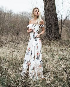 PREORDER - Victoria Floral Maxi Dress   @giftryapp