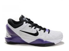 info for b528b 01186 Nike Zoom Kobe 7 White Purple Black,Style code488244-015,The