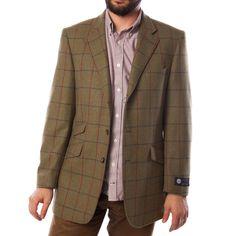 Brook Taverner - BROOK TAVERNER 3127A Gents Tweed Jacket Yorkshire Country Pure New Wool - Dunedin Cashmere