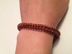 Copper  Chainmaille Bracelet on Etsy, $60.00 CAD