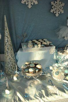 Winter Wonderland Birthday!  RaeRae's first birthday/1st birthday party?