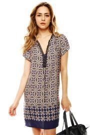 Laceup Tunic Dress