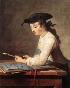 Jean-Baptiste-Simeon Chardin (Jean Baptiste Simeon Chardin) 1737