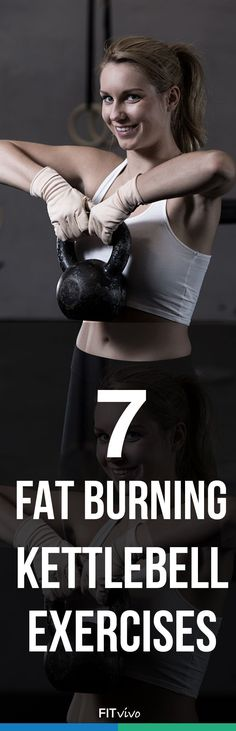 Arm workouts with weights. Here are 7 kettlebell to get rid of flabby arms. The workout routine can be done at the gym with some equipment or at home. Challenge yourself and tone your arms. It's about time to look sexy with sleeveless tops for the summer | Posted By: NewHowToLoseBellyFat.com #KettlebellWorkoutforMen #KettlebellArmWorkout