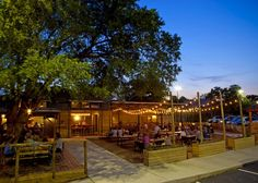 CONTIGO AUSTIN - Great place to sit outside and grab food.