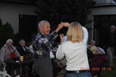 Pożegnanie lata, ognisko w Radosnym Domu Seniora