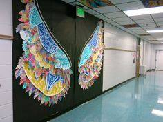 Cassie Stephens: In the Art Room: Kelsey Montague-Inspired Mural