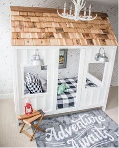 Is this a kids bed or a playhouse? Looks pretty cool either way