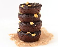 Black bean brownie bites Vegan & Gluten Free Recipe