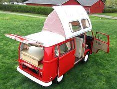 1971 VW Camper Van by Dormobile