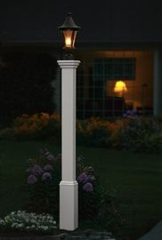 Madison Lamp Post | Arbors & Trellises | Mailboxes, Address Plaques, Yard & Graden | Mahvelous Mailboxes