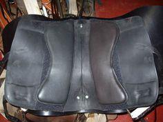 Underside of a Portuguese saddle