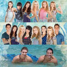 Mako Mermaids - the cast                                                       …