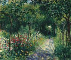 Pierre-Auguste Renoir,Femmes dans un jardin(1873)