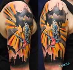 High quality inspiration by Ivana Belakova. For more tattoo culture check out somequalitymeat.com