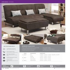 #ClippedOnIssuu from 2016 Living Room Catalog : zella sectional - Sectionals, Sofas & Couches