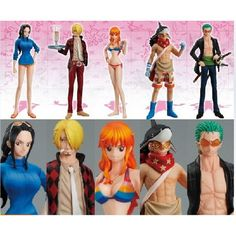 30.00$  Buy here - https://alitems.com/g/1e8d114494b01f4c715516525dc3e8/?i=5&ulp=https%3A%2F%2Fwww.aliexpress.com%2Fitem%2FOne-Piece-Cosplay-Zoro-Nami-Usopp-Sanji-Nico-Robin-14cm-5-5-Boxed-Garage-Kits-Action%2F32370910304.html - One Piece Cosplay Zoro Nami Usopp Sanji Nico Robin 14cm/5.5'' Boxed Garage Kit Action Figures Model Toys 5Pcs/Set