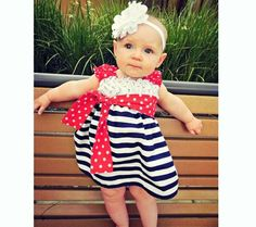 Check these Amazing collection of 4th Of July Dresses For Girls , ladies and women. here your will get cloths for Baby kids for Independence day.