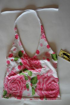 Damen Süßes Sommer  top damen bluse Weiß / Rosa