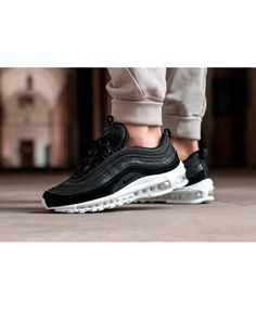 buy online 3af25 c0fbe Authentic Nike Air Max 97 Black White Shoes