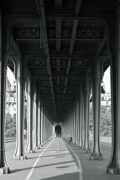 "Bir-Hakeim (Paris Métro) - Here is where Elen Page and Leonardo DiCaprio bend the laws of physics in one of 'Inception""s eerie dream sequences.  It is also where Marlon Brando meets Maria Schneider in 'Last Tango in Paris.'  Bir-Hqastation commemorates the World War II battle of Bir Hakeim in the Libyan desert."