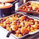 Een heerlijk recept: Nigella Lawson: Spaanse kip met chorizo en aardappelen