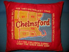 geographical pillows