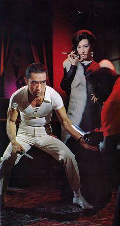 Yukio Mishima and Akihiro Miwa in Black Lizard(Kuro Tokage) / 1968 / dir. Japanese Film, Vintage Japanese, Japanese History, Nobel Prize In Literature, Tough Guy, National Treasure, Gay Art, Short Film, Les Oeuvres