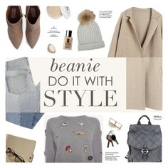 """Beanie, do it with style"" by honestlyjovana ❤ liked on Polyvore featuring Mix Nouveau, Alexander McQueen, Valentino, GF Ferré, Clinique, Forever 21, Maryam Keyhani, Haute Hippie and beanies"