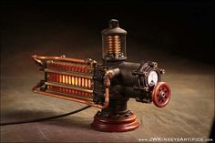 the Photonic Siphuncle Primary: a hand-made by JWKinseysArtifice