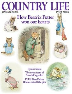 Country Life January 27 2016 Also on anglotopia.net: Brit Lit: New Unpublished Beatrix Potter Story Discovered – Will Be Published in September