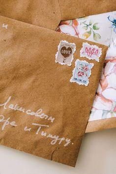 mmm, конверт с приглашением - The-wedding.ru