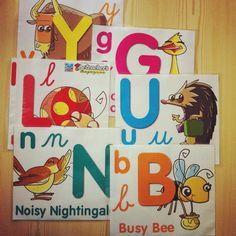 keep calm and carry on teaching: Pomysł na prezentację alfabetu angielskiego i jego wymowy (oraz 3proste zabawy)