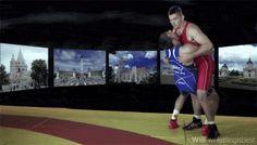 alliseeisgold:      wrestlingisbest:          From the promo for the 2013 World Championships, Budapest Hungary.
