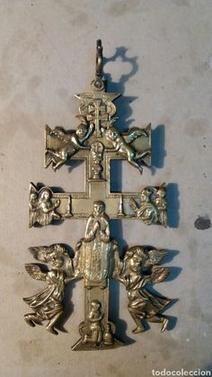 Cruz de Caravaca. Bronce - Foto 1
