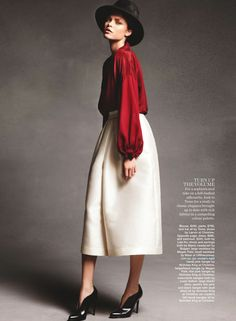 in with the new: ania, jordan, jemma, amanda, solveig and diana by nicole bentley for marie claire australia