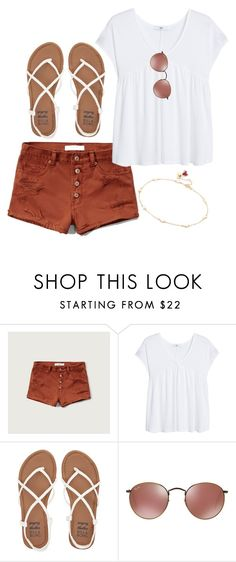 """Untitled #2400"" by moria801 ❤ liked on Polyvore featuring Abercrombie & Fitch, MANGO, Billabong and Shashi"