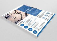 Corporate Flyer-V72 by Template Shop on Creative Market