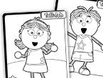 Tickety Toc Coloring Page