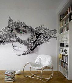 Новые просторы для творчества — роспись в стиле зентангл - Ярмарка Мастеров - ручная работа, handmade