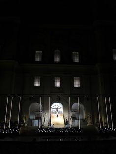 Jedermann-Bühne vorm Salzburger Dom Dom