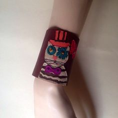A personal favorite from my Etsy shop https://www.etsy.com/listing/221583139/steampunk-jewelrysteampunk-cuff-catwrap