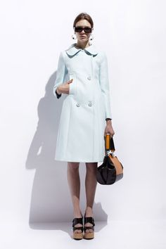 Structured and sweet w/ a little bit of naughty...perfect.  Resort 2014 Fashion - The Best Looks from Resort 2014 - Harper's BAZAAR