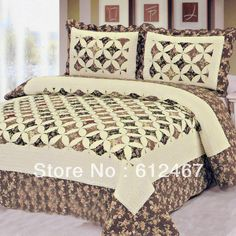100%cotton bed spread/bed cover sets $35.00